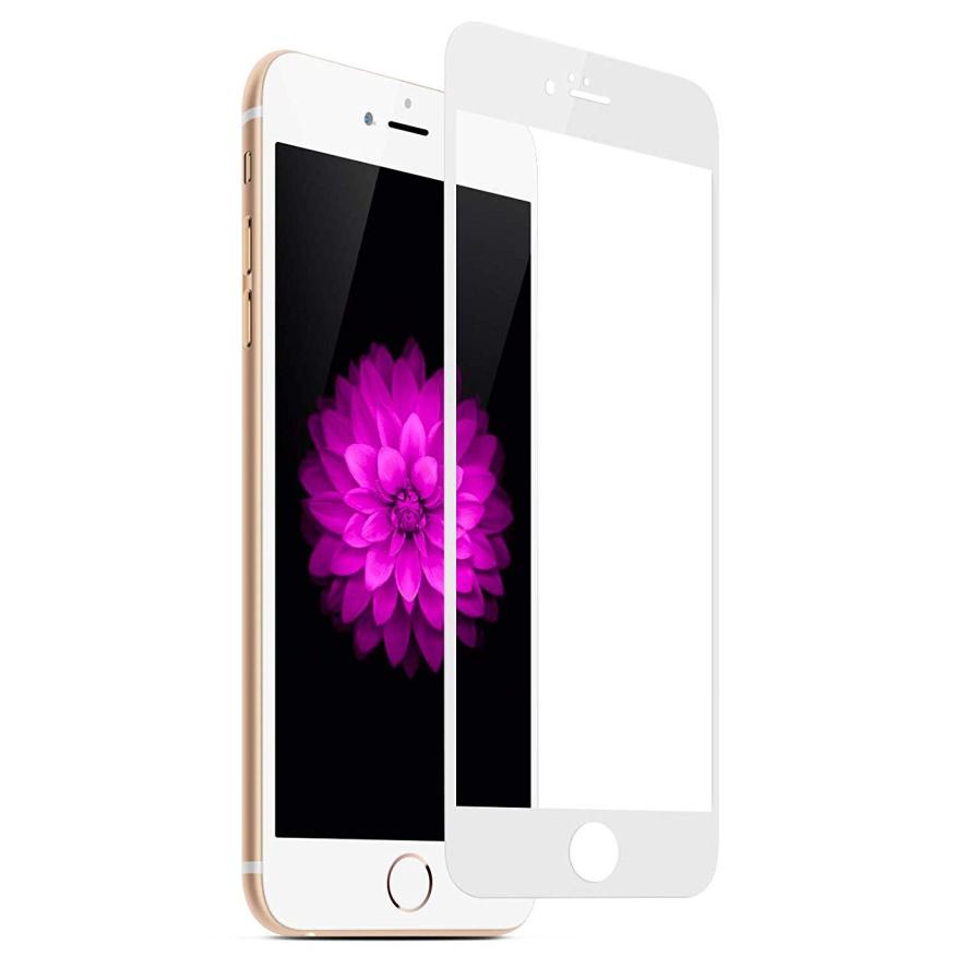 Защитное стекло AHORA для Apple IPhone 6, 6s (Айфон 6, 6s) на весь экран (Full Cover) арт.G6-03W-O, белый, прозрачный