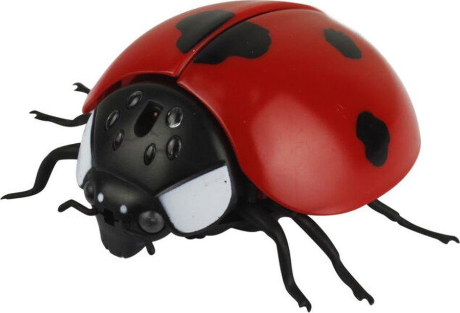 Интерактивная игрушка 1TOY Игрушка Робо-божья коровка на ИК управлении, Т14327 интерактивная игрушка 1toy плюшевый микрофон bobbie