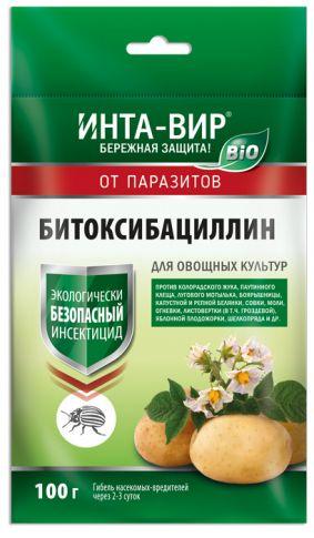 Инсектицид БИО Битоксибациллин Инта-Вир 100г цена 2017