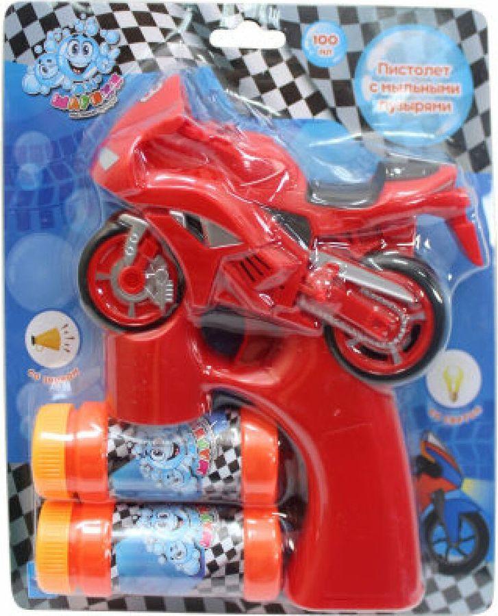 Машина для мыльных пузырей 1TOY Мы-шарики! Мотоцикл, Т15064