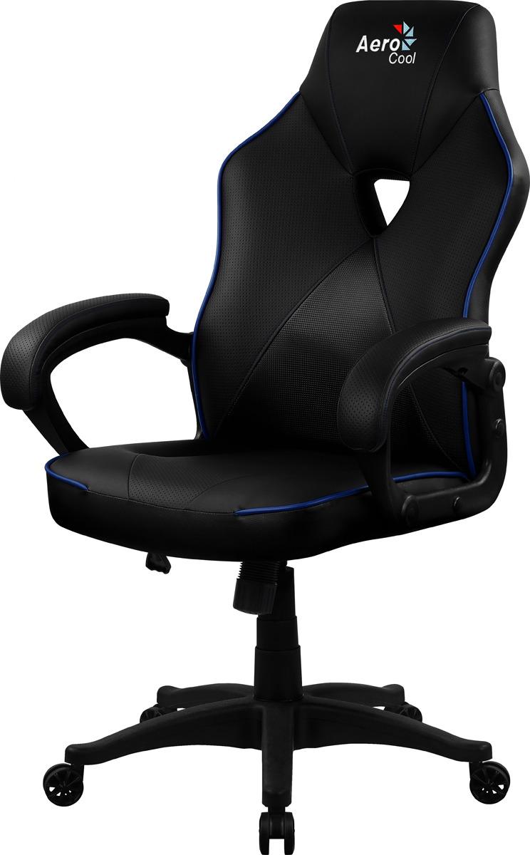 Игровое кресло Aerocool AC50C Air, черный, синий