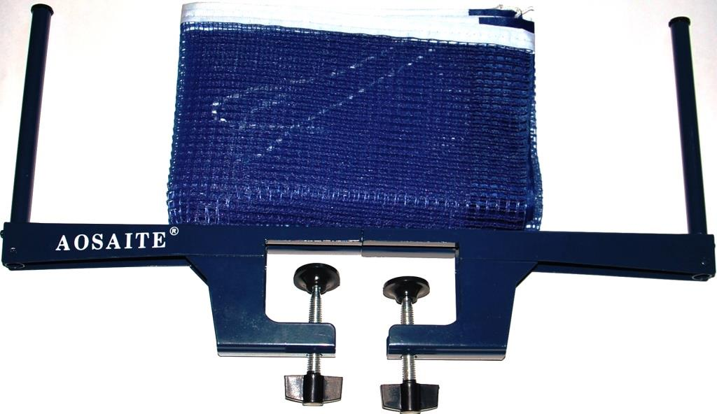 Сетка для настольного тенниса AOSAITE 11068, синий платье для тенниса asics w club dress цвет розовый синий 141173 0688 размер m 46 48
