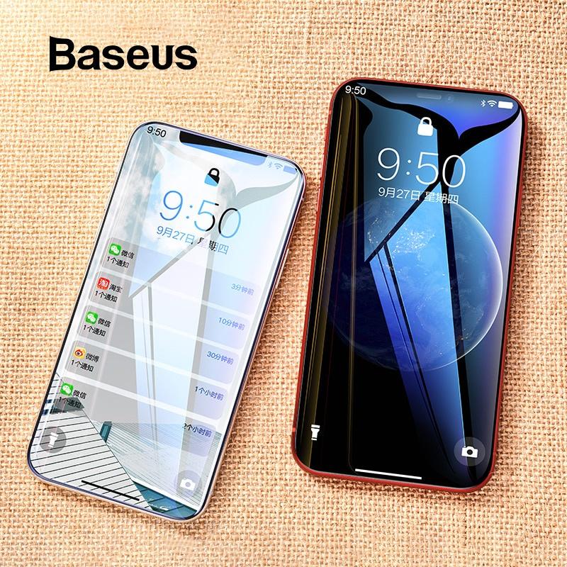 Защитное стекло Baseus iPhone Xs Xs Max XR, прозрачный аксессуар защитная пленка iphone xs max red line задняя часть ут000016929