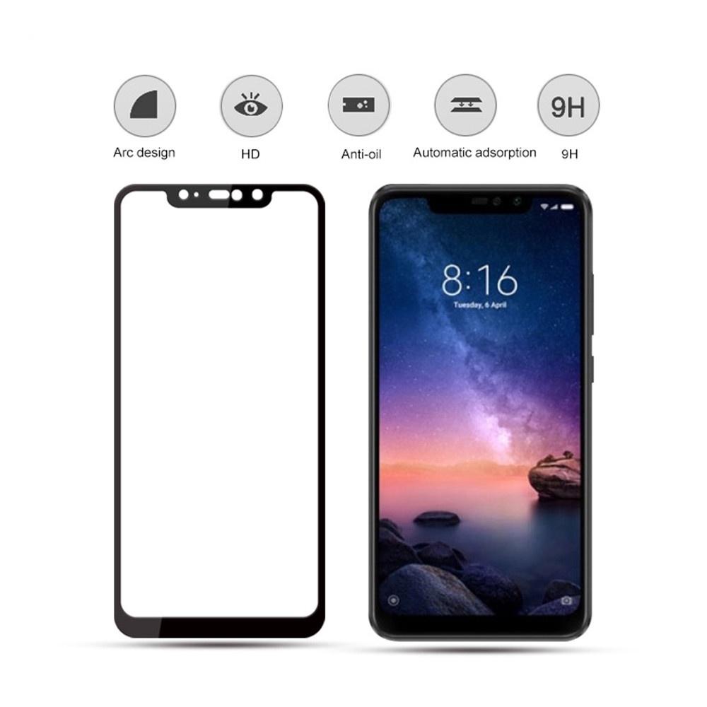 Защитное стекло Тор Seller Закаленное стекло 5D / 9H для Xiaomi Redmi Note 6 Pro, прозрачный аксессуар защитное стекло для xiaomi redmi note 6 zibelino zibelino tg 5d black ztg 5d xmi not6 blk