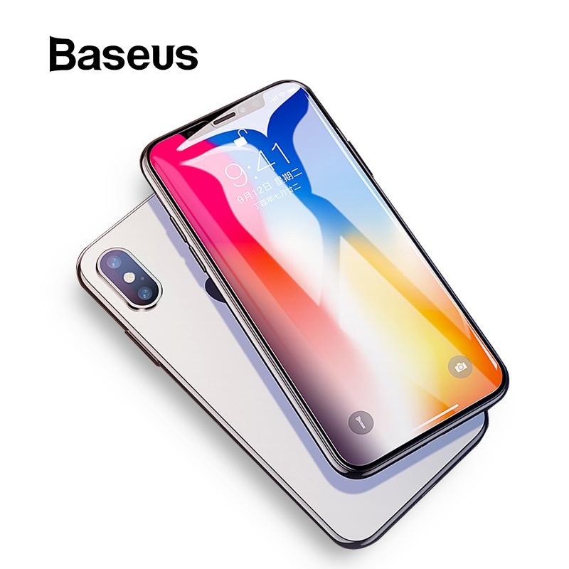 Защитное стекло Baseus для iPhone Xs Xs Max XR, прозрачный аксессуар защитная пленка iphone xs max red line задняя часть ут000016929