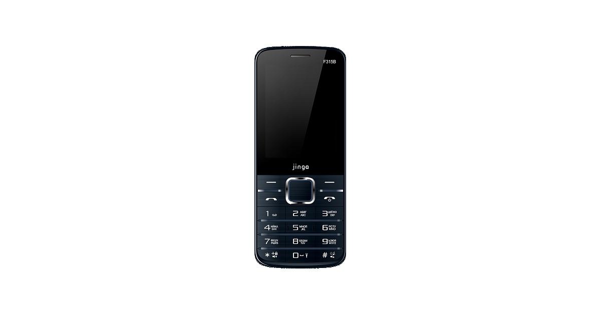 Мобильный телефон Jinga Simple F315B Черный, черный стоимость