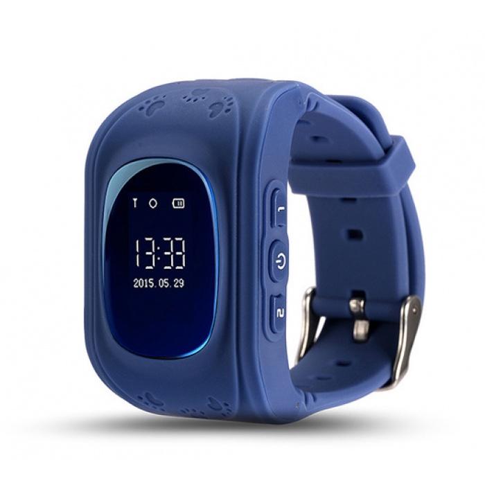 лучшая цена Умные часы для детей No Name Q50, синий