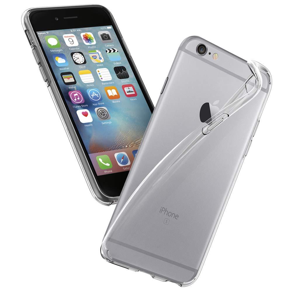 Чехол для сотового телефона AHORA для Apple IPhone 6, 6s (Айфон 6, 6s) арт.CC6U-03-O, прозрачный