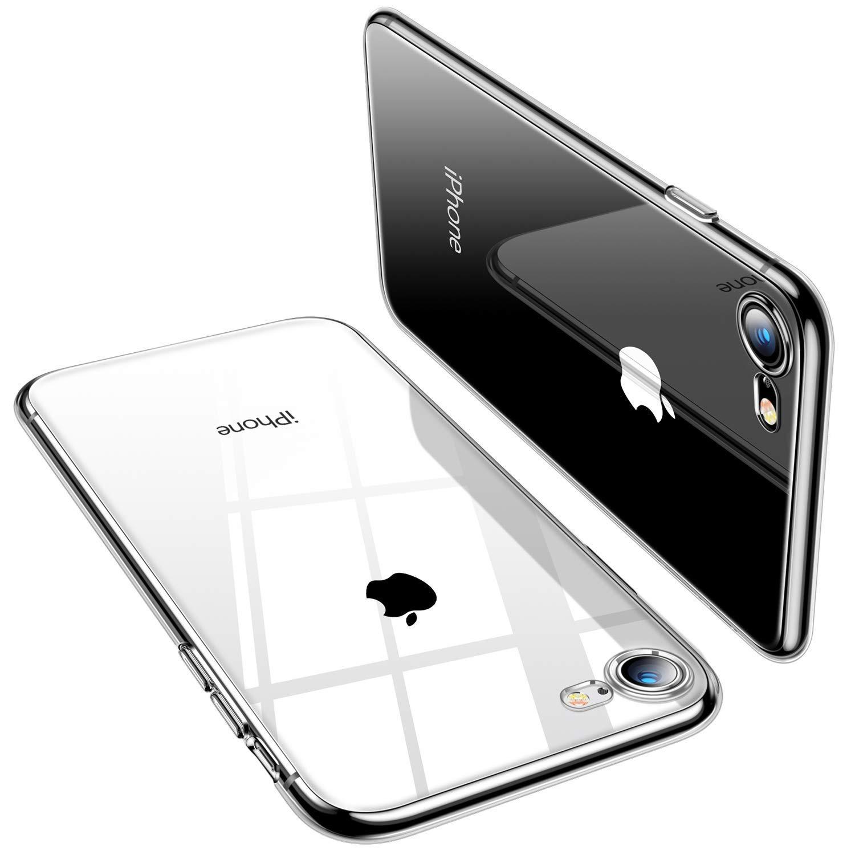 Чехол для сотового телефона AHORA для Apple IPhone 7, 8 (Айфон 7, 8) арт.CC7U-03-O, прозрачный