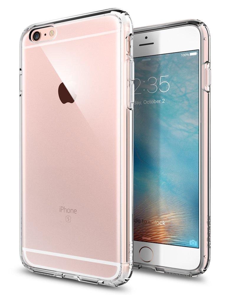 Чехол для сотового телефона AHORA для Apple IPhone 6 Plus, 6s Plus (Айфон 6+, 6s+) арт.CC6PU-03-O, прозрачный