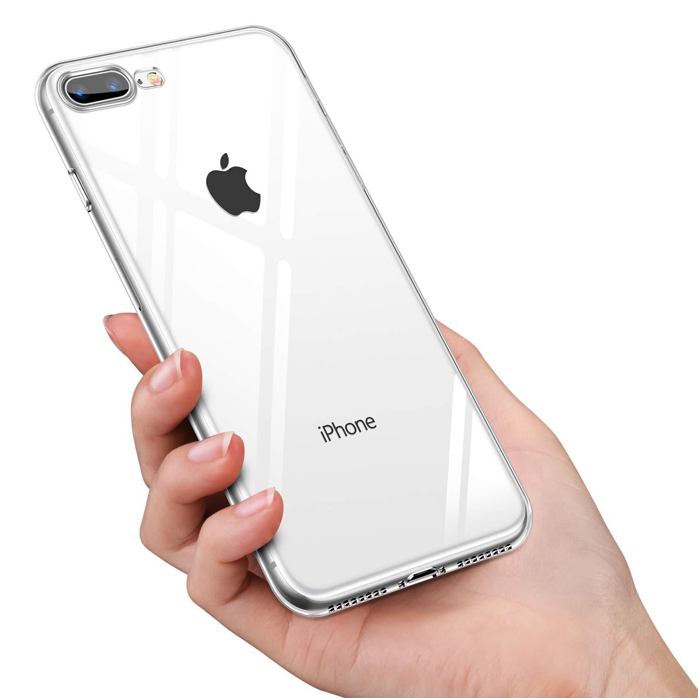 Чехол для сотового телефона AHORA для Apple IPhone 7 Plus, 8 Plus (Айфон 7+, 8+) арт.CC7PU-03-O, прозрачный