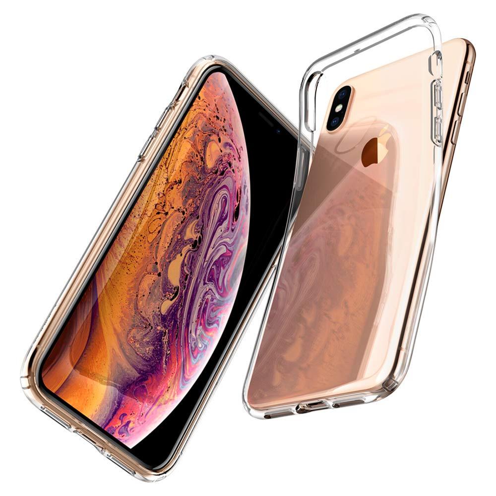 Чехол для сотового телефона AHORA для Apple IPhone X, Xs (Айфон 10, 10s) арт.CCXU-03-O, прозрачный