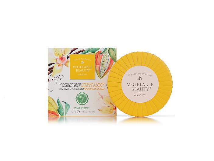 Мыло косметическое Vegetable Beauty Ваниль и какао