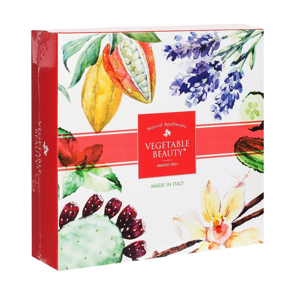 Мыло косметическое Vegetable Beauty Набор №1,4 шт. недорго, оригинальная цена
