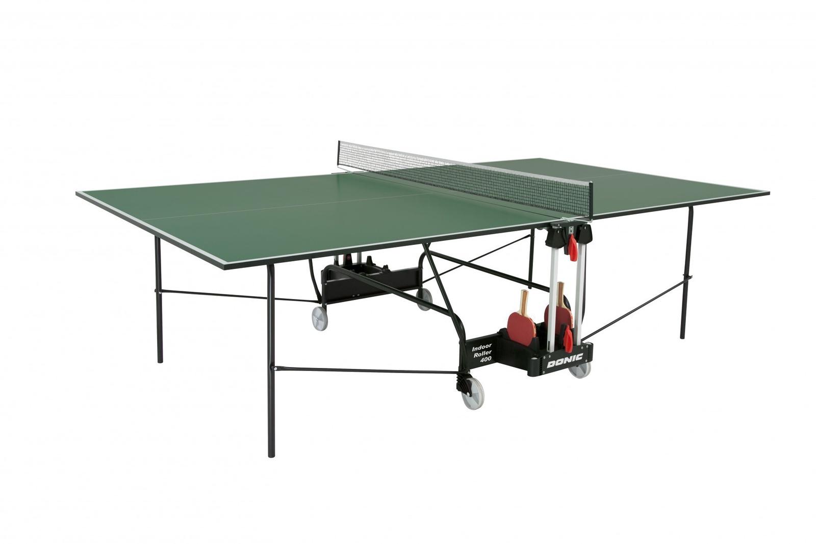 Теннисный стол Donic 230284-G, зеленый теннисный стол dfc tornado 4 мм с сеткой