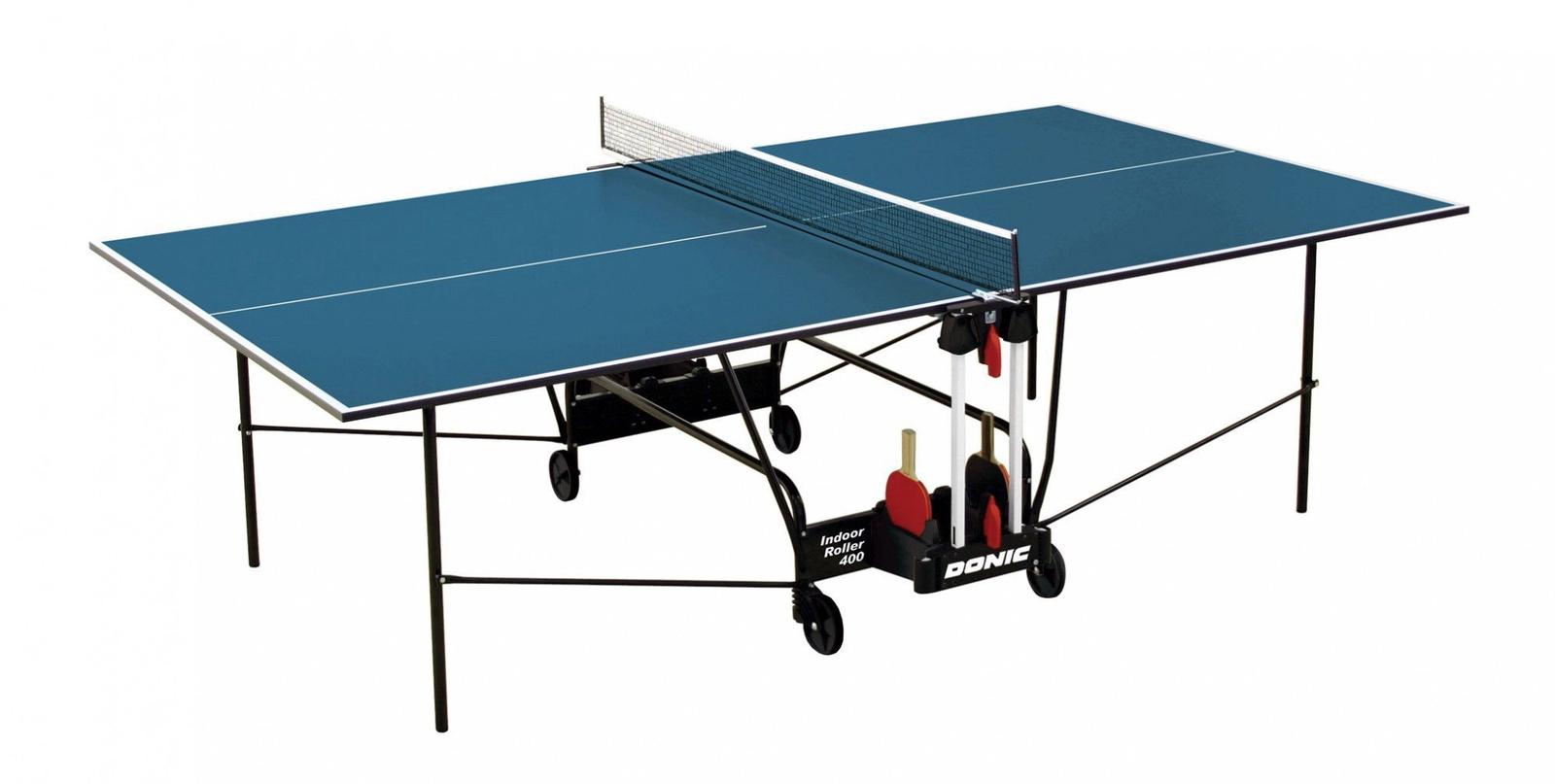 Теннисный стол Donic 230284-B, синий теннисный стол dfc tornado 4 мм с сеткой