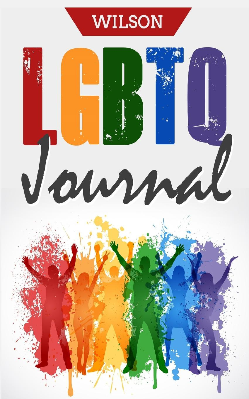 "Wilson. LGBTQ Journal. 50 Pages 5"" X 8"" Lined Paper"
