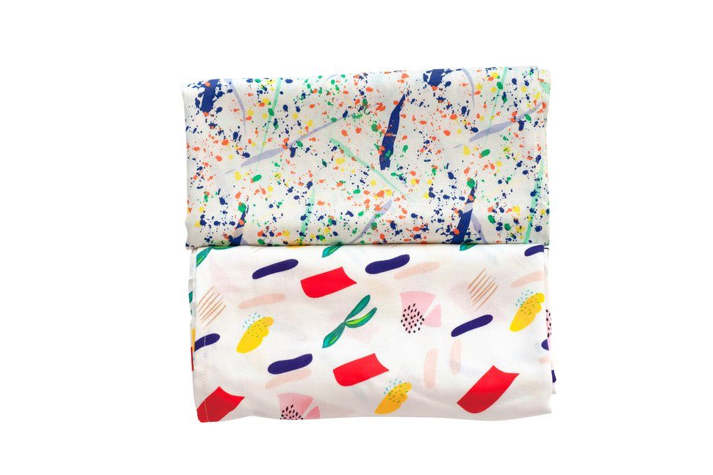 TinyTwinkleКомплект пелёнок 120*120 (2шт) (Matisse+Pollock) . ...