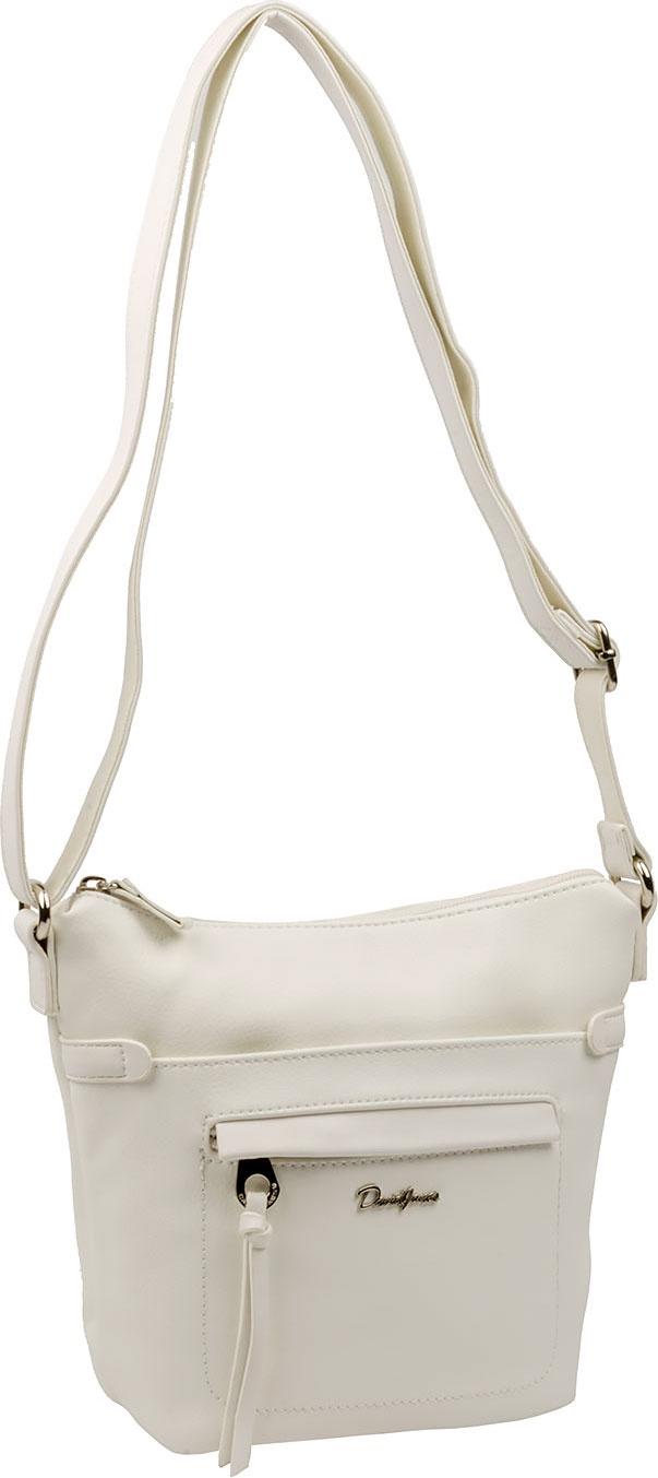 цены на Сумка кросс-боди David Jones 5944-1, белый  в интернет-магазинах