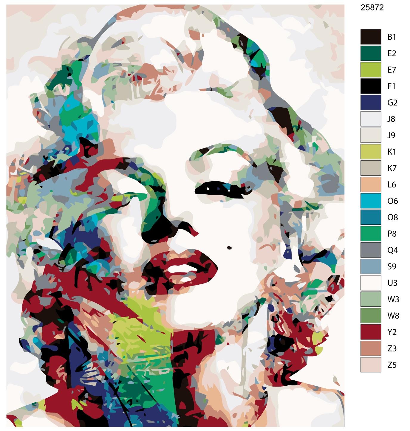 Картина по номерам, 40 x 50 см, KTMK-25872