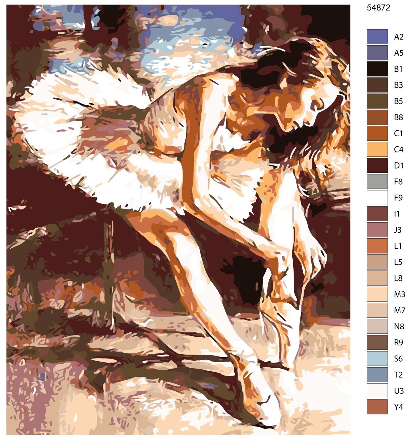 Картина по номерам, 40 x 50 см, KTMK-54872 Живопись по номерам