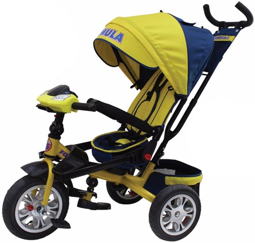 Детский велосипед Formula 5 трехколесный, FA5Y, желтый