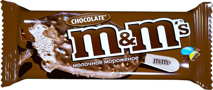 Мороженое Марс Шоколад M&Ms, 63 г