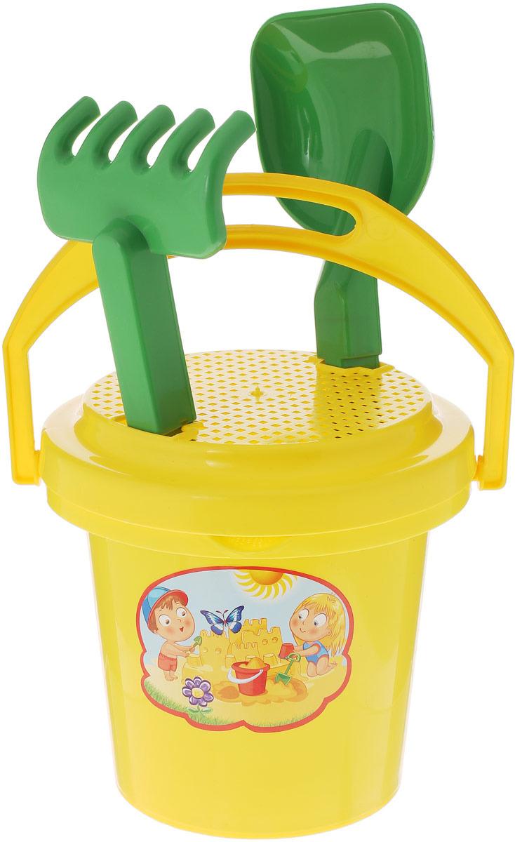 Игрушка для песочницы Zebratoys Бабочка, 15-5414-3, цвет в ассортименте, 4 предмета песочный набор zebratoys самосвал c каской и лопатой 3 предмета