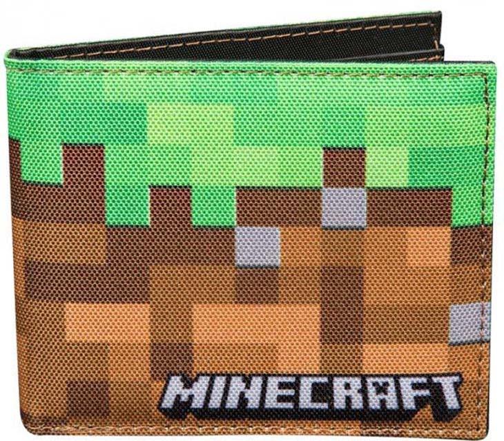 Кошелек Minecraft J05575, разноцветный подарок minecraft