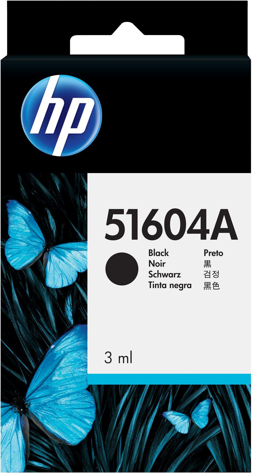 Картридж HP 51604A, черный, для струйного принтера, оригинал
