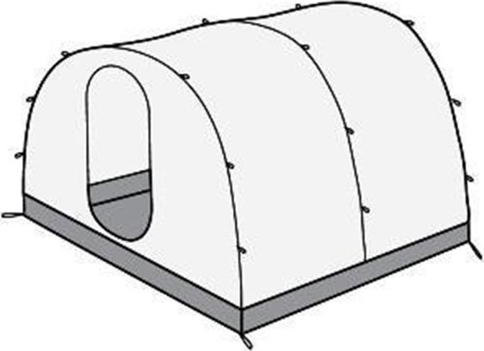 Жилой модуль Red Fox для палатки Team Fox 2, 00000033770, бежевый red fox футболка amplitude ls мужская 48 9100 т синий w 17 18