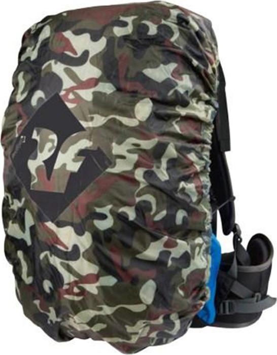 Чехол для рюкзаков Red Fox Rain Cover 20-45, 00001066996, зеленый