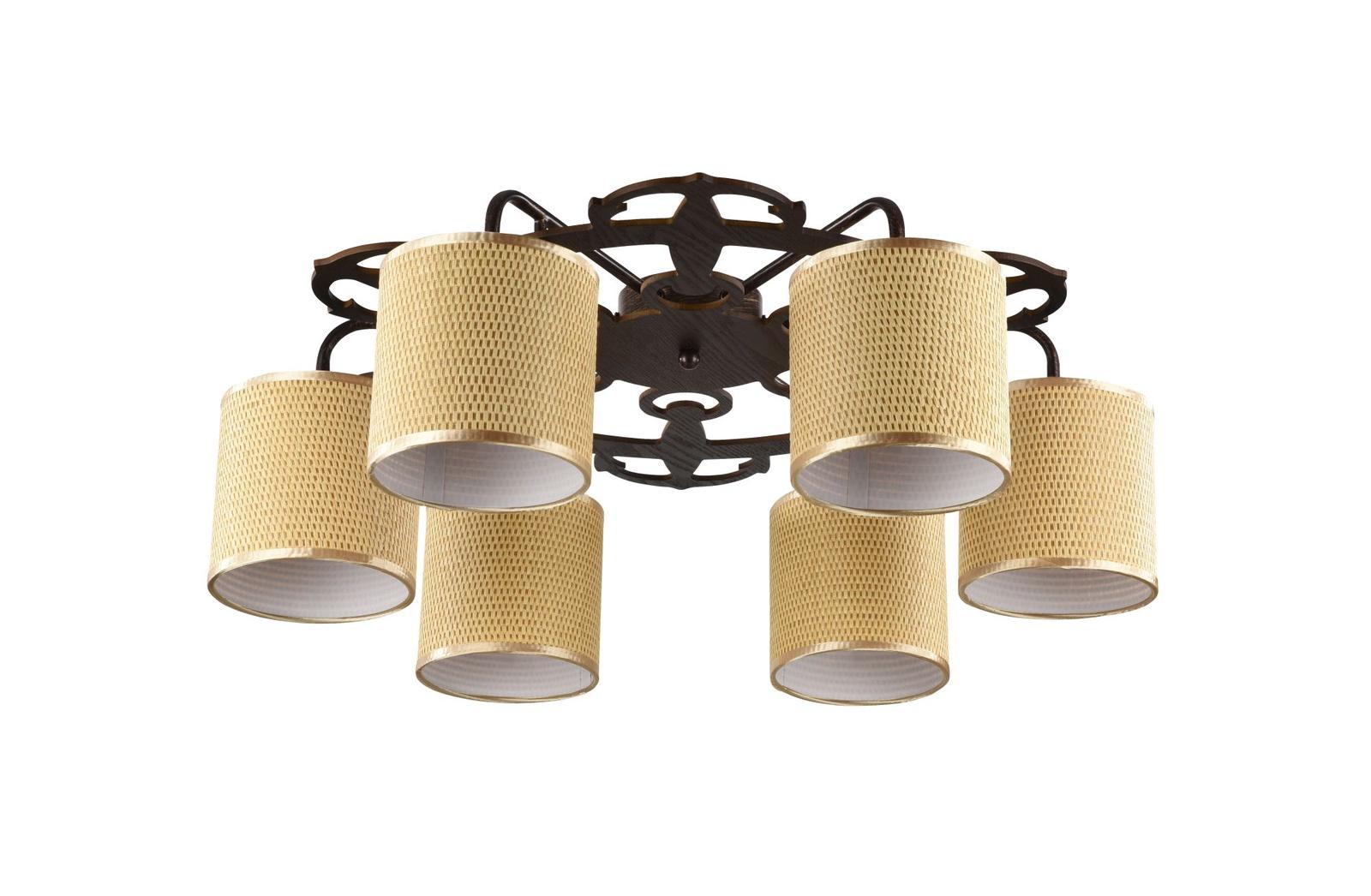 Потолочный светильник Freya FR5100-CL-06-BR светильник freya fr5100 cl 08 wg