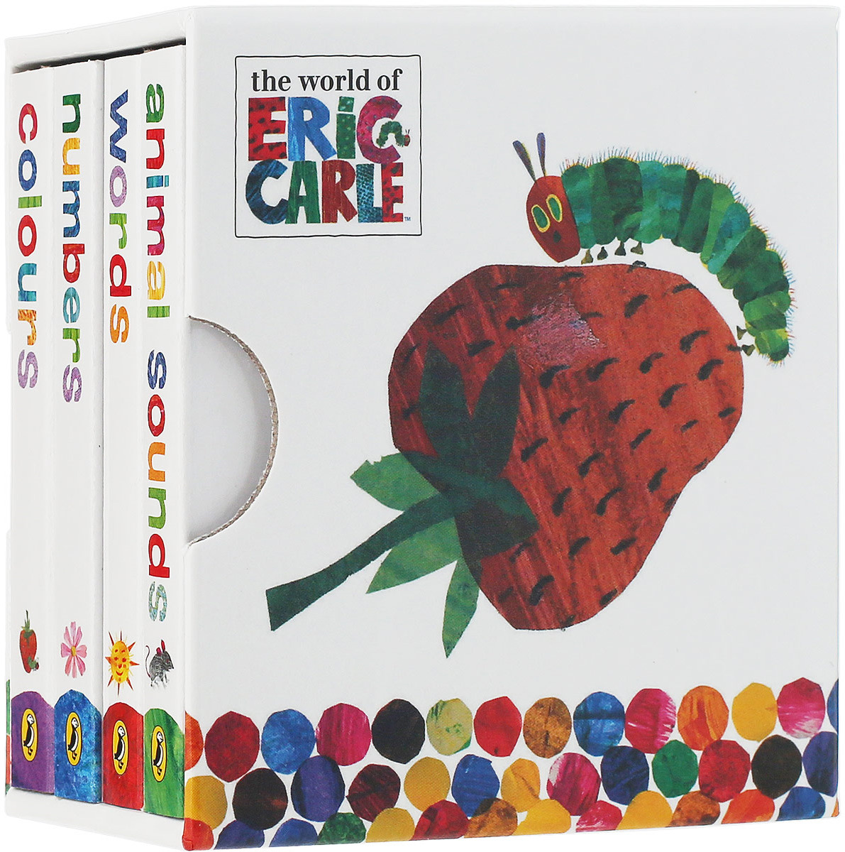 The Very Hungry Caterpillar: Little Learning Library (комплект из 4 книг) the very hungry caterpillar board book and plush