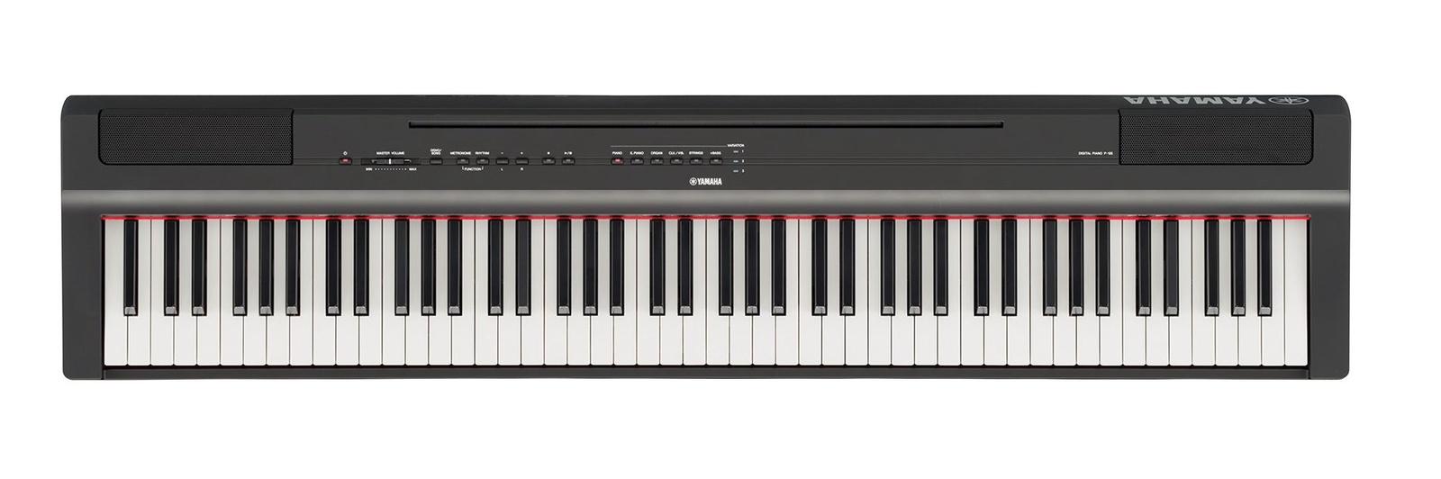 цена на Цифровое фортепиано Yamaha P-125B, черный