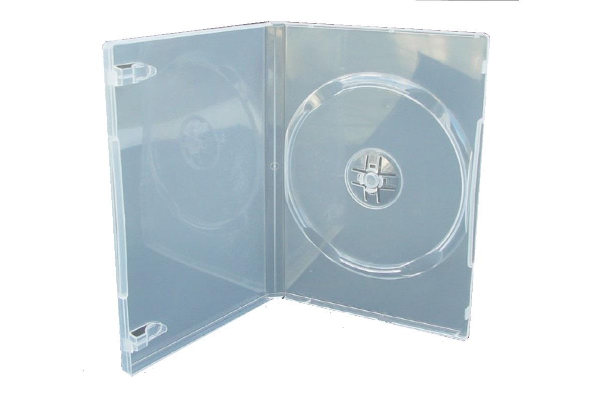 Контейнер для дисков Slim DVDB-9-T, прозрачный