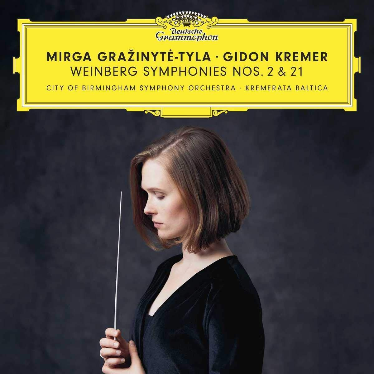 Mirga Grazinyte-Tyla. Weinberg: Symphonies Nos. 2 & 21 (2 CD) a rubinstein symphony no 2 op 42 ocеan