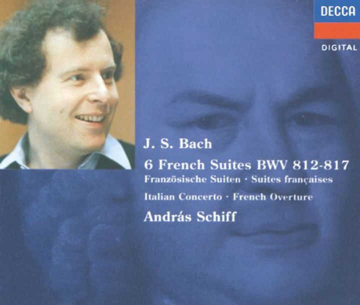 Andras Schiff. Bach: French Suites Nos. 1-6/ Italian Concert (2 CD) андрас шифф andras schiff solo piano music 6 cd