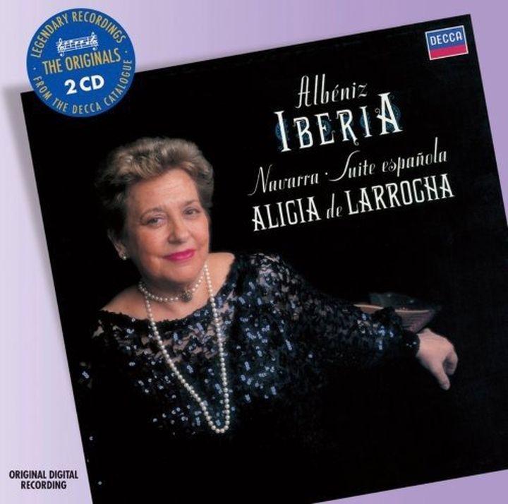 купить Алисия де Ларроча Alicia de Larrocha. Albeniz: Iberia (2 CD) по цене 1587 рублей
