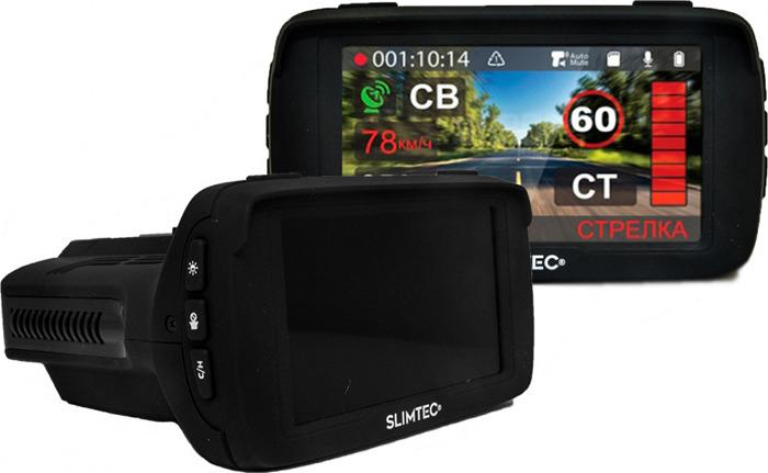 Видеорегистратор Slimtec Hybrid X Signature, черный видеорегистратор slimtec hybrid x