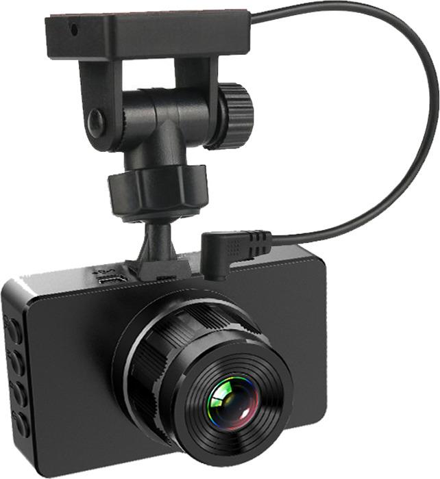 Видеорегистратор Slimtec G5, черный dash camera junsun l6 full hd 1296p car dvr top radar detector 3 in 1 speed gps 170 degre ambarella registrar car electronics