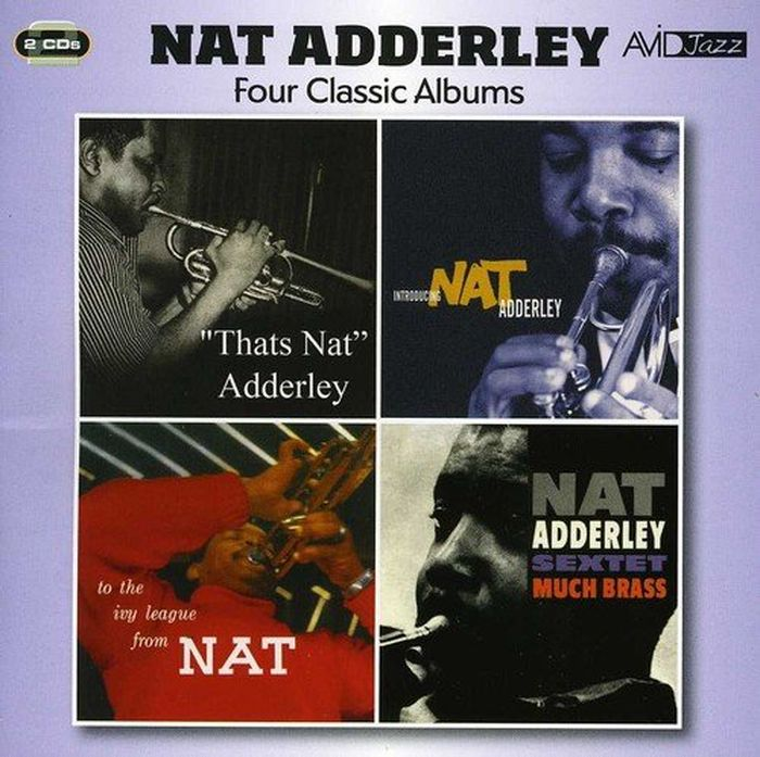 Нэт Эдерли Nat Adderley. Adderley - Four Classic Albums (2 CD) sur fit natura standard urostomy pouch nat pch 2 pc uro 2 25 in flg 1 box 10 each