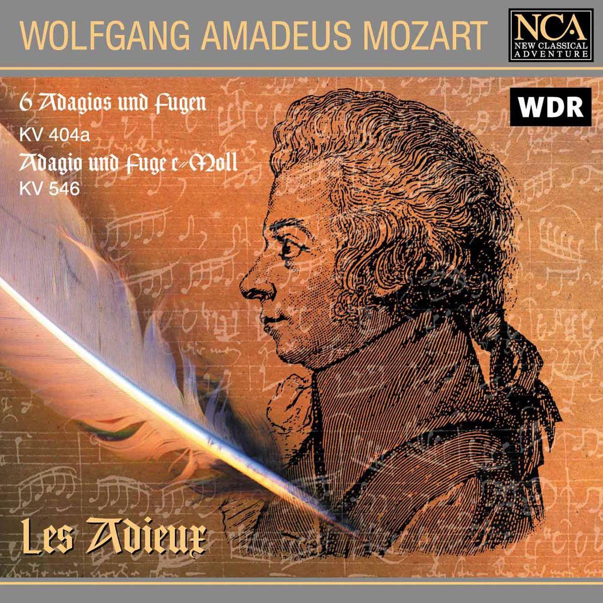 Les Adieux Les Adieux. Mozart. Adagios & Fugen фредерик шопен ноктюрн f moll