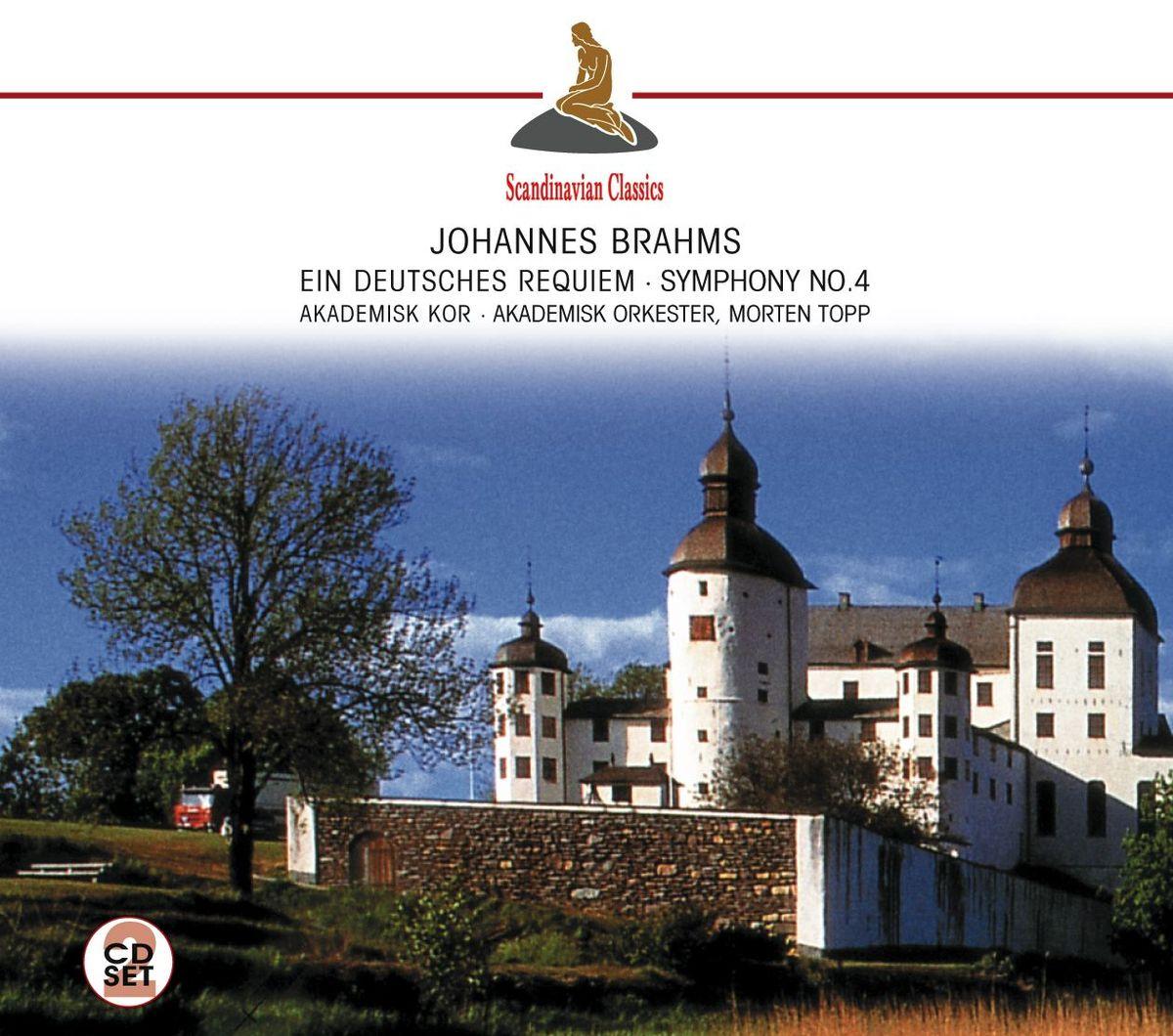 Akademisk Orkester Akademisk Orchester. Brahms: Ein deutsches Requiem (2 CD) а дворжак симфония no 2 op 4 symphony no 2 op 4