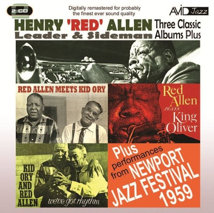 Генри Рэд Аллен Henry Red Allen. Three Classic Albums P (2 CD) slw 866 dark red mini finger touch jazz drums music game set red silver 3 x aaa