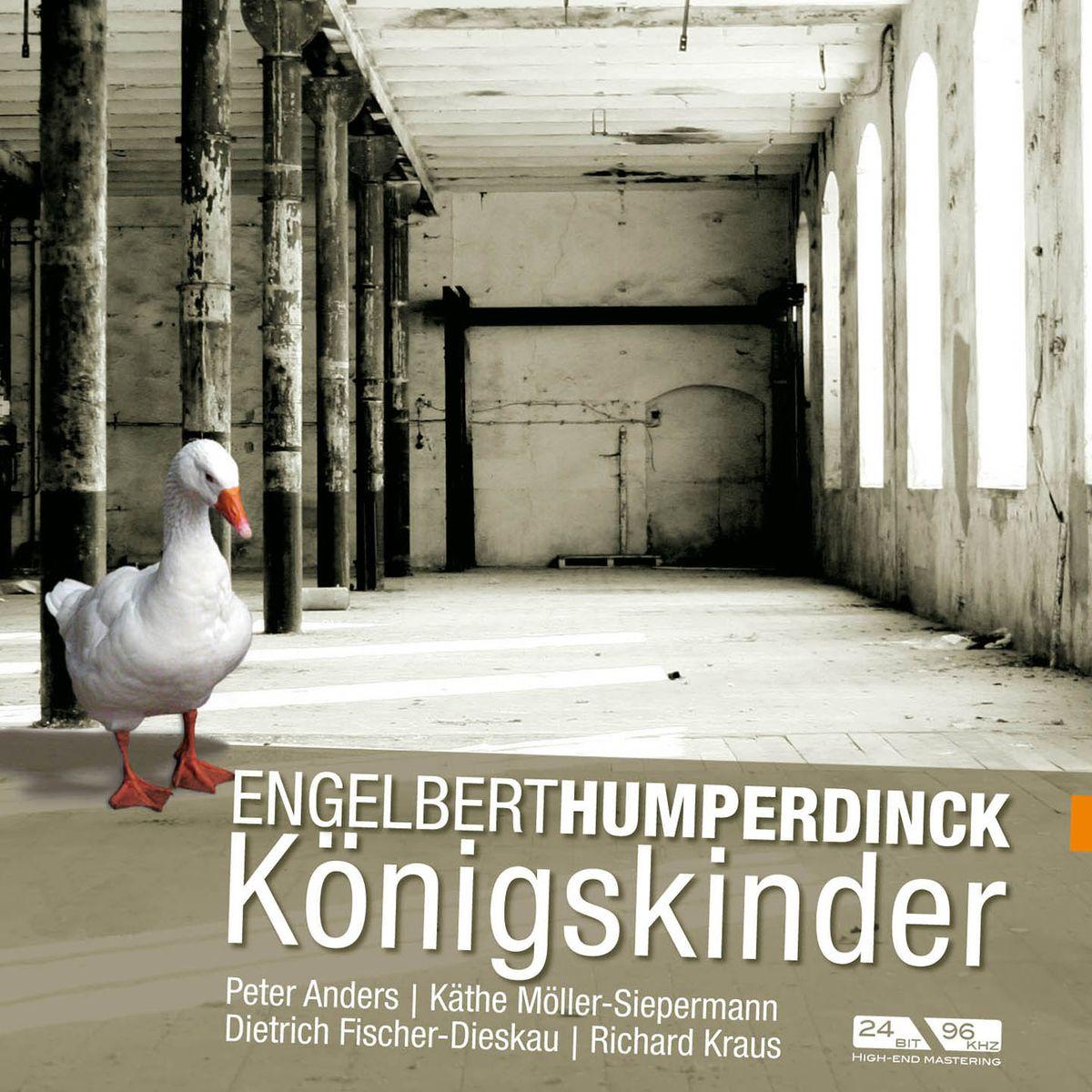 Anders, Fischer-Dieskau U. A. / Kraus. Humperdinck: Konigskinder (3 CD)