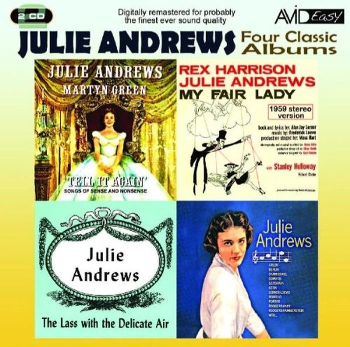 Джулия Эндрюс Julie Andrews. Four Classic Albums (2 CD) cathy glass daddy's little princess and will you love me 2 in 1 collection