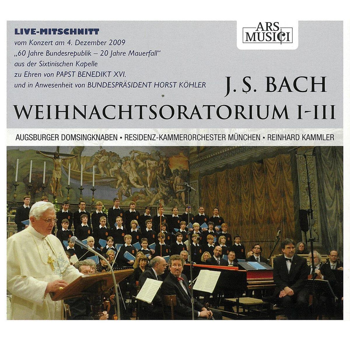 Augsburger Domsingknaben. Bach, J. S. : Weihnachtsoratorium I-III цены онлайн