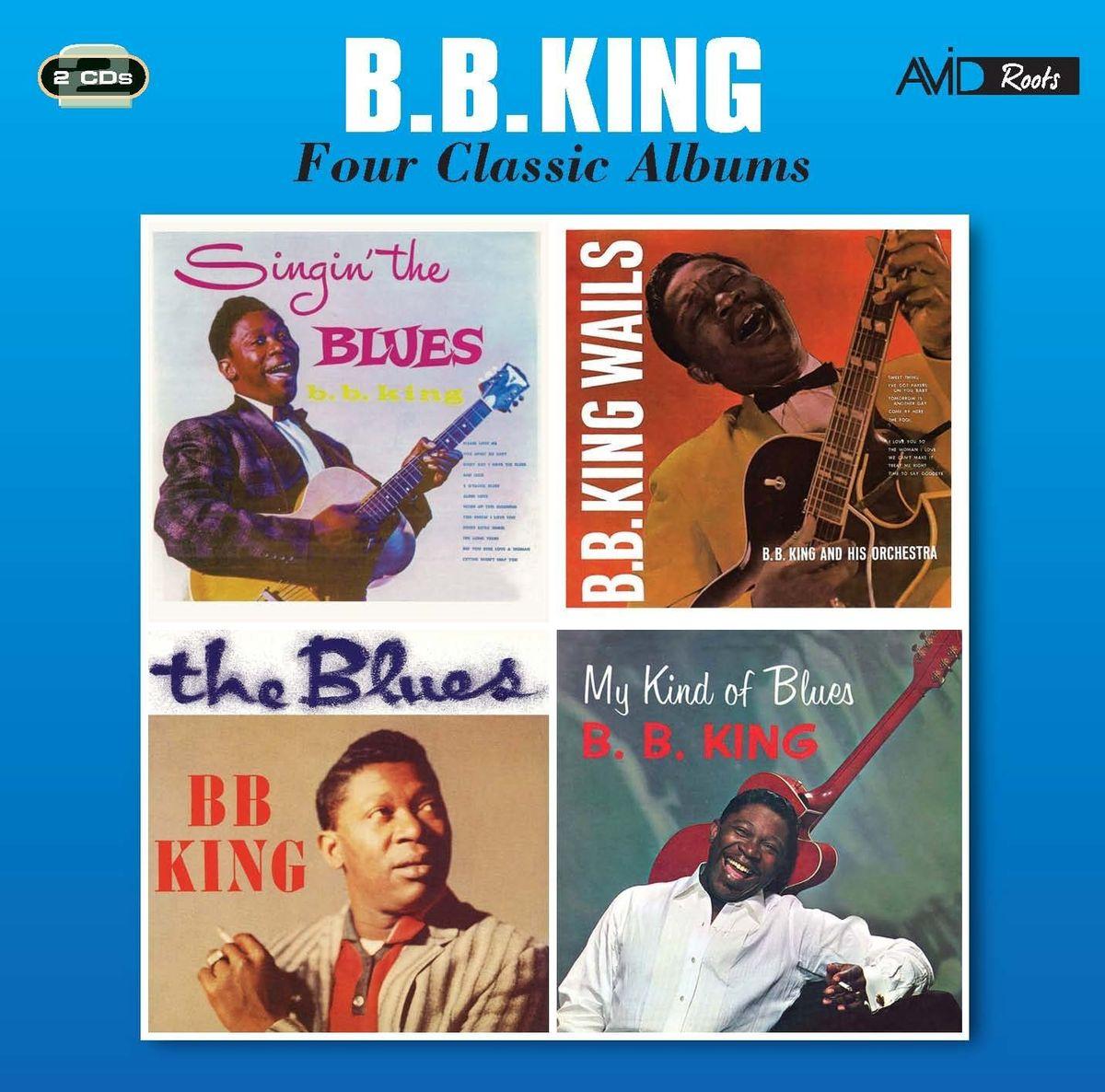B. B. King. B. B. King - Four Classic Albums (2 CD) недорго, оригинальная цена