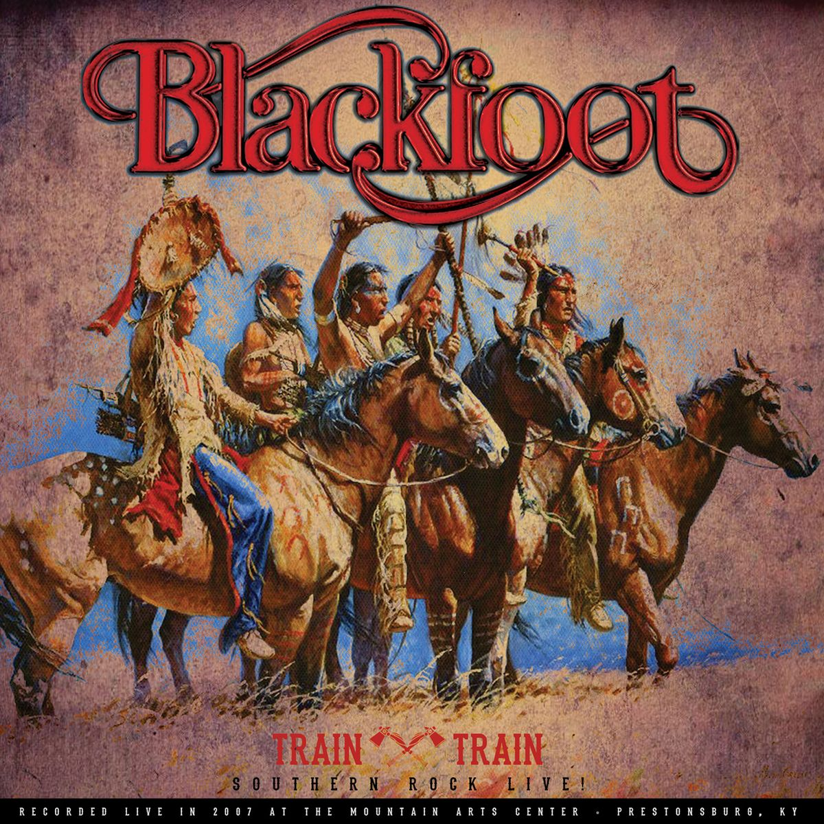 Blackfoot. Train Train - Southern Rock Live! (LP) puhdys city karat rock legenden live